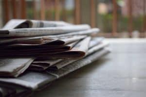 Kranten in opstand