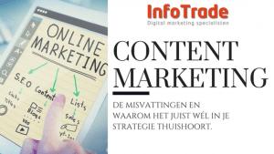 Content marketing misvattingen InfoTrade